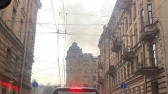 Пожар в Доме Басевича удалось локализовать