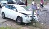 """""""Хёндай"""" сбил трех пешеходов и влетел в ограждение на Коломяжском проспекте"""