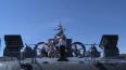 На Военно-морском салоне показали макет авианосца ...