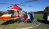 В Петербурге двух жертв ДТП эвакуировали на вертолетах санавиации