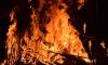 В Сосновом Бору ночью горел дачный дом