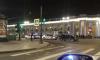 Мужчину госпитализировали после аварии на Невском проспекте