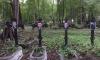 На Смоленском кладбище активисты разместили фотографии политиков