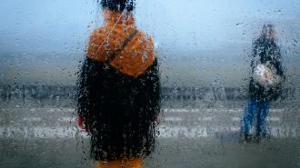 В воскресенье жители Ленобласти увидят мокрый снег и дождь