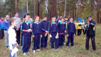 Спортивно-туристический слет для детей и подростков муниципального округа Озеро Долгое