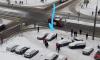 В Красносельском районе Петербурга иномарка вылетела на тротуар и сбила девушку
