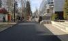 На пешеходной улице Всеволожска уложили асфальт