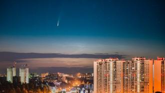 Жители Петербурга и Ленобласти могут увидеть яркую комету Неовайз
