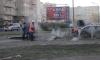 Ливневка спасла жителей Народной улицы от раскаленного кипятка