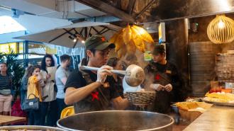 Василеостровский рынок закрывает ресторанную часть на карантин