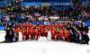 Путин и Полтавченко поздравили российских хоккеистов с олимпийским золотом