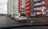По Петербургу ночью прошелся ураган: пользователи выкладывают в соцсети фотографии