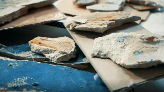 Петербургские археологи обнаружили на Митрофаниевском кладбище фундамент старинной часовни