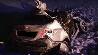 В Самарской области три человека погибли в ДТП с грузовиком