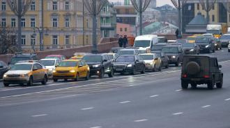 Вечером 14 мая пробки в Петербурге достигли 8 баллов