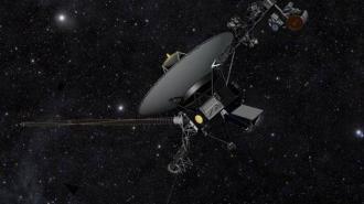 """Зонд """"Вояджер-1"""" услышал гул межзвездного пространства"""