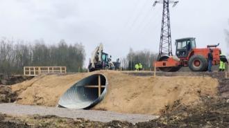 Мост через Касколовку будет открыт для движения в начале лета