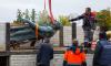 Геракл из Екатерининского парка отправился на первую за 70 лет помывку