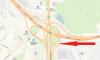 До середины ноября съезд на развязке КАД с Пулковским шоссе полностью перекроется