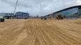 """Строительство подъездной дороги к """"Лахта-центру"""" начнетс..."""