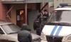 Полиция со стрельбой задерживала разбушевавшегося петербуржца с трубой