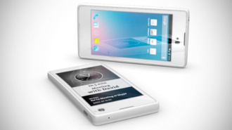 Компания Yota представила в Москве первый российский смартфон