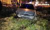 Подросток за рулем автомобиля снес светофор в Выборге