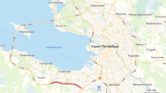 На участке КАД между Ропшинским и Таллинским шоссе ограничат движение транспорта