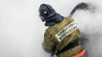 Пожар в Красном бору охватил 5000 квадратных метров площади