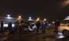 В Выборгском районе Mercedes выскочил на встречку и протаранил Volkswagen