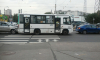Тройное ДТП на проспекте Испытателей: столкнулись джип, маршрутка и легковушка