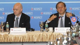Мишель Платини против общего чемпионата России и Украины