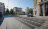 В Выборгском районе возобновили движение после ремонта трамвайных путей
