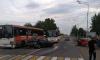 В Ленобласти 5 человек пострадали в аварии с участием автобуса и двухлегковушек