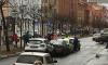 Каршеринг разбил сразу три машины на Васильевском острове