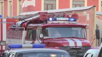 В Калининском районе загорелась однокомнатная квартира