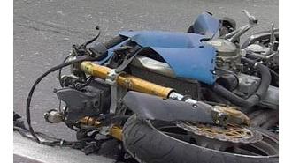 На Малоохтинской набережной в ДТП погибла мотоциклистка, у нее остался маленький ребенок