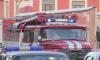 Горящий грузовик на Энгельса тушили девять человек