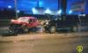 Утром в Выборгском районе произошло страшное ДТП с участием двух легковушек