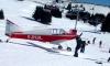 Самолет сбил лыжницу в Альпах
