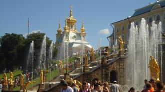 В Петергофе начинается осенний праздник фонтанов