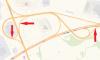 На развязке КАД с Выборгским шоссе на сутки перекроют два съезда