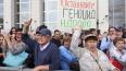 Ройзман и Гудков посетили митинг в Петербурге