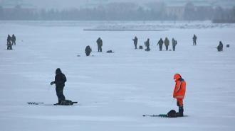Более 600 людей заметили на льду акваторий в Курортном районе