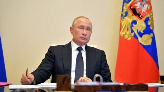 """Владимир Путин обратится к россиянам 11 мая """"во второй половине дня"""""""
