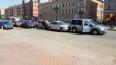 Комбо: на Лиговском проспекте столкнулись пять автомобил...