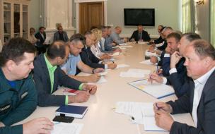 Геннадий Орлов провел заседание с главами администраций поселений Выборгского района