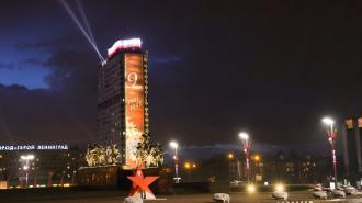 Московский проспект озарят прожекторы в честь Дня Победы