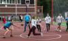 В Выборгском районе построили современный школьный стадион за 18,5 млн. рублей