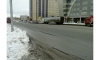 Появились фото огромной трещины на дороге в Новосибирске, из-за которой перекрыли движение
